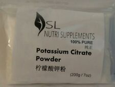 Potassium Citrate Powder 100% Pure - (200g) a key function in organs