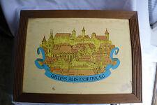Nuremberg/Nurenberg Gingerbread Christmas Wood Box