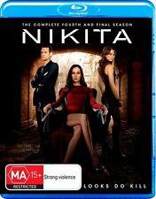 Nikita : Season 4 (Blu-ray, 2014)
