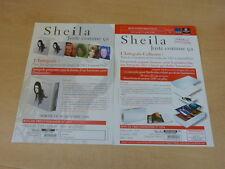 SHEILA - JUSTE COMME CA!!!!!!!!!!!!!PLAN MEDIA!!!