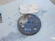 FIAT REAR BRAKE DRUM BACK PLATE SPLASH GUARD NEAR SIDE FROM 1.9 DIESEL MULTIPLA
