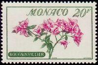 "MONACO N° 517 ""FLEURS, BOUGAINVILLE 20 F"" NEUF x TB"
