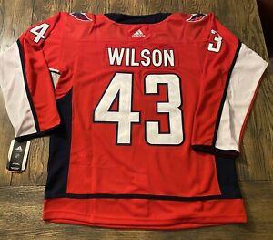 #43 Tom Wilson Washington Capitals Jersey - Adult Small (46)
