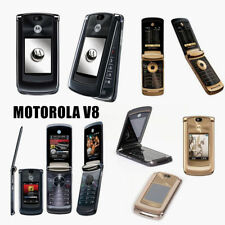 Original Motorola RAZR2 V8 Unlocked 2GB/512MB GSM 2.0MP Flip Mobile Cellphone UK