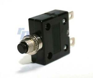 Sicherungsautomat 12V, 5-20 Ampere, oder Schutzkappe, Druckknopf, raceparts cc