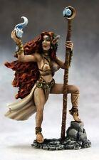 Elf Sorceress Reaper Miniatures Dark Heaven Legends RPG Mage Wizard Caster Magic