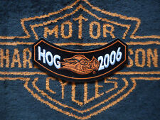 Harley-Davidson toppa patch Harley Owners Group HOG 2006