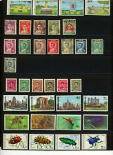 Thailand- Mainly 1980's Two Pages- Several Mnh Sets Catalog Value $35+