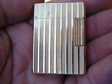 Vintage Gold Plated Paris Made in France ST DUPONT Lighter