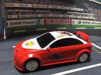 SCALEXTRIC Slot Racing Car 1/32 CUSTOM SPEED SUPERMAN RALLY WOW READY TO RUN FUN