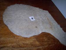 SHEEPSKIN LAMBS WOOL 18 X 16 FREE S/H