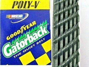 Serpentine Poly V belt-Alternator/Power Steering/AC GOODYEAR GATORBACK 4060530