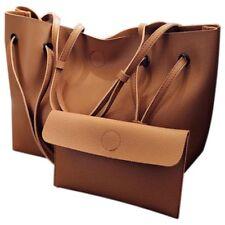 Bolsa de mensajero hombro cuero la PU mujer mano monedero bolso Macuto cruzaB1Y8