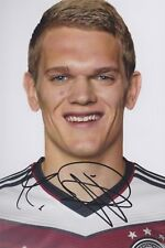 MATTHIAS GINTER DFB EM WM 2014 2018 Foto 13x18 signiert IN PERSON Autogramm