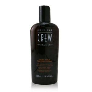 NEW American Crew Men Light Hold Texture Lotion (Low Shine) 250ml Mens Hair Care
