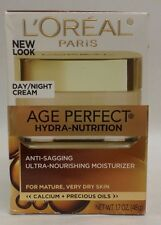 Loreal Age Perfect Hydra Nutrition Day or Night Cream 1.7 oz  EXP 04/19+ New