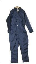 THERMAL PADDED WATERPROOF ALL IN ONE OVERALL FISHING SUIT WORK GLIDING XL 44 46""