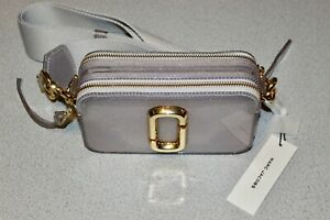 Marc Jacobs The Jelly Snapshot Silver Multi-Color Crossbody Camera Bag Purse NWT