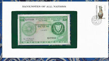 Banknotes of All Nations Cyprus 500 mils 1979 P 42c UNC Prefix M/49