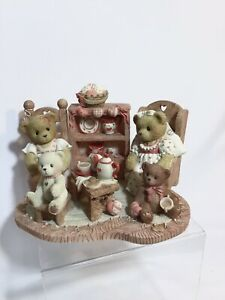 Cherished teddies stephanie and Melanie tea warm in the soul friends warm heart