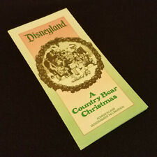 Disneyland - A Country Bear Christmas - Admission & Entertainment Information