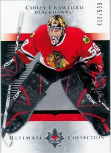 2005-06 Ultimate Collection CRAWFORD Rookie Card 419/599 185 Blackhawks UD COREY