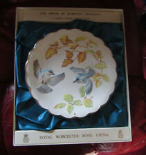Royal Worcester Dorothy Doughty Birds Ltd Edition Plate Cerulean  Warblers....