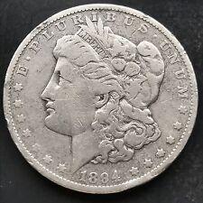 Estados unidos 1894 o dólares morgan plata New Orleans raramente better date 4821