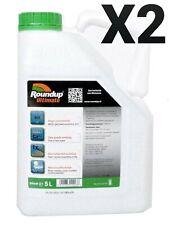 Roundup ULTIMATE 2X5L- Désherbant - Glyphosat - Monsanto 480g/l LIVRAISON EN 24H
