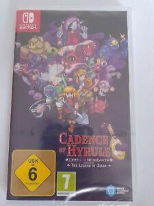 Nintendo Switch Zelda Cadence of Hyrule NEU! SEALED! VGA WATA Verschweißt