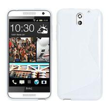 HOUSSE ETUI COQUE SILICONE GEL BLANC HTC DESIRE 610