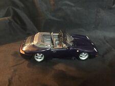 Welly Porsche 911 Carrera Cabriolet Navy 1/24 scale No Box