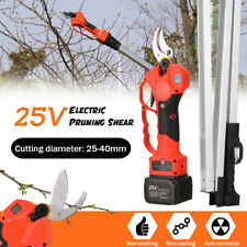 """Cordless 1.2"""" Profession Electric Pruning Tree Shears Pruner With 150MM Poles"""