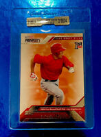 2009 Mike Trout Rookie Card Angels Tristar Prospects #20 1st Rd.25th Draft Pick
