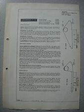 LOEWE OPTA Typ 522/84/85/88/89 Alaska, Paloma, Stereo, Decoder Service Manual