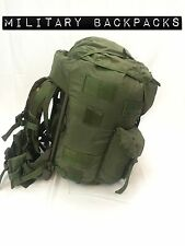 Used Large Combat Fieldpack Complete Alice Rucksack With Frame & Straps OD green
