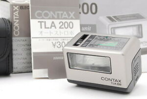 Rare!! [UNUSED IN BOX] Contax TLA200 Shoe Mount Flash for G1 G2 From JAPAN #1201