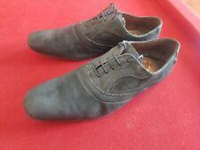 Base London Men's Black Leather Suede Shoes UK 9. US 10. EU 43