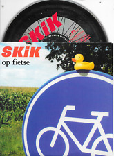 SKIK - Op fietse CD SINGLE 2TR Dutch Cardsleeve 1997 (Polydor) Daniel Lohues