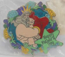 Disney Ariel and King Triton Father's Day 2007 Cast Member Exclusive LE Pin