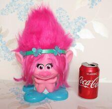 Princess Poppy Trolls style Station Dreamworks cheveux Commode Rose Film