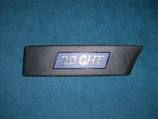 Emblem / Badge Fiat Croma CHT Typ 154 Kotflügel Beifahrerseite 82467426