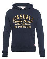 Lonsdale londres talla M ZIP-hooded Sweat-chaqueta Navy Sospechosovarón cheltemham