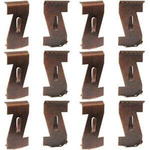 10/20pcs Heavy Duty Brick Hooks Hanger Clips Standard Metal Clip Wall K3J7