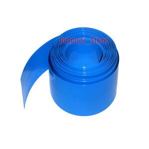 New 91mm (Φ58mm) PVC Heat Shrink Tubing RC Battery Pack Wraps NiMH LiPO NiCd