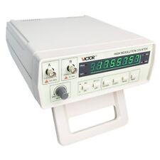Profesional VC3165 Contador de Frecuencímetro 0.01Hz -2.4 GHz 8 dígito CE