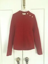 Isabel Marant Red Wool Knit Sweater Jumper Size 3 UK M/10