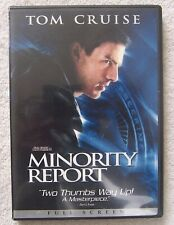Minority Report (Dvd, 2003) Wide Screen Very Good Condition