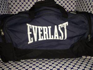 Borsone Everlast - Medio Nylon con logo grande - Blu Nero - 17A95