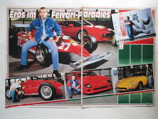 Eros Ramazotti Ferrari 166 F2 275 GTB Yahoo Serious Graf clippings Germany